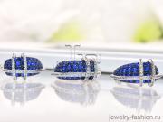 Гарнитур :кольцо и серьги